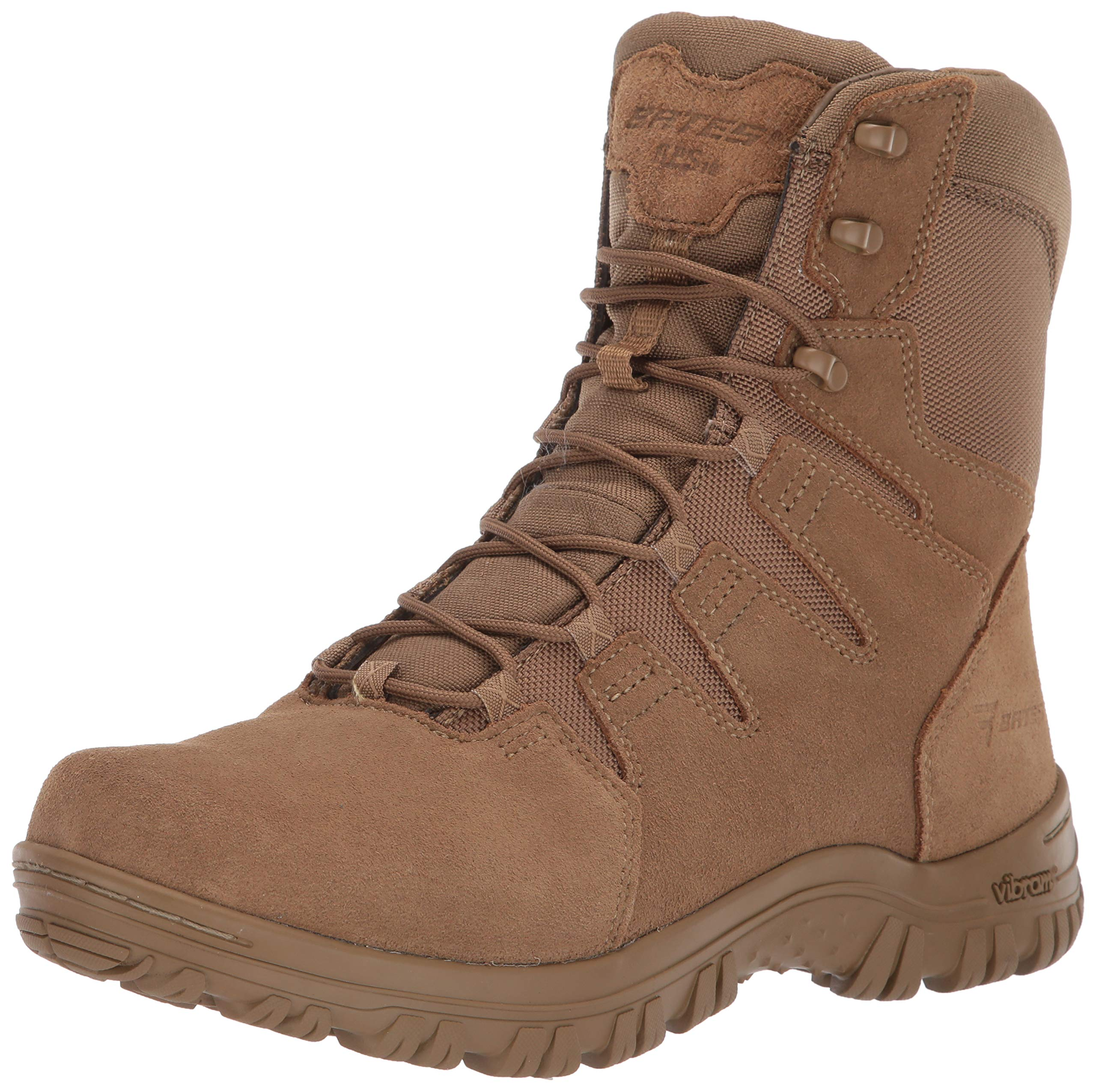 Bates Men's Maneuver Hot Weather Fire and Safety Boot, Coyote, 8 M US