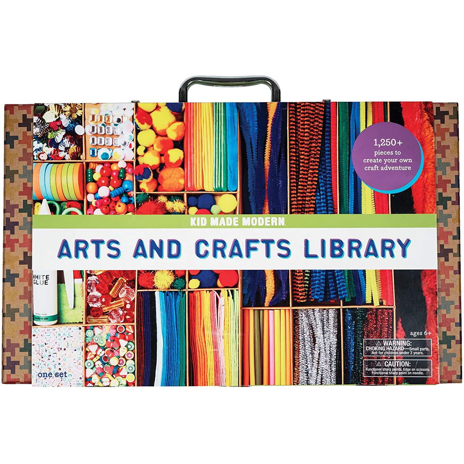 Kid Made Modern Arts And Crafts Library Set - Kid Craft Supplies, Art  Projects In A Box