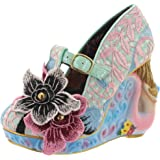 Womens Irregular Choice Aquata Mermaid T-Strap Court Shoes High Heels