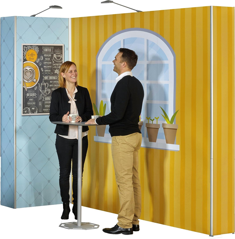 PrintGreen PortableTable by EXPOLINC zerlegbar in 1 Tasche Beistelltisch in Einem Steh-