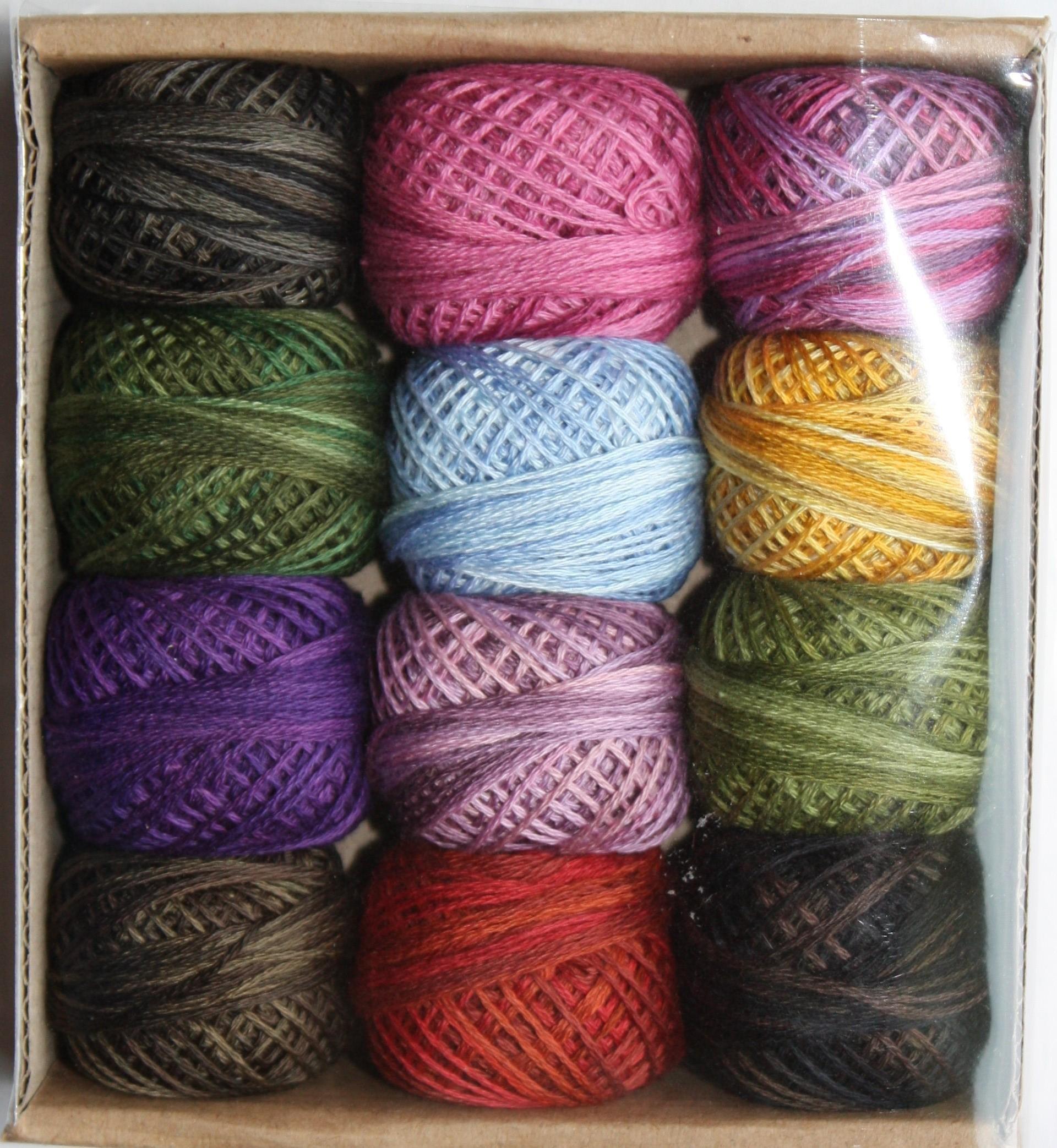 Valdani 3-strand cotton floss - Baskets, Baskets, Baskets! by Valdani