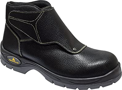 b08bdfefe48 Delta Plus Panoply Cobra 3 S1P Mens Black Leather Welders Welding Safety  Boots
