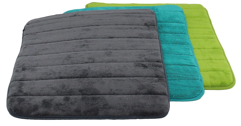 Acquamarina sseller Verde Brandsseller Questi Tappetino da Bagno Bagno Tep pisch Tappetino da Bagno di Dimensioni: 40/X 60/Disponibile nei Colori: Antracite 40 x 60 cm Acquamarina