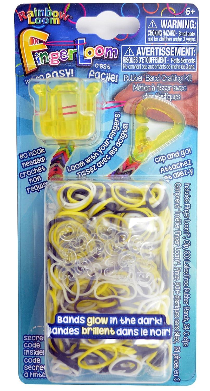 Official Rainbow Loom Finger Loom YELLOW
