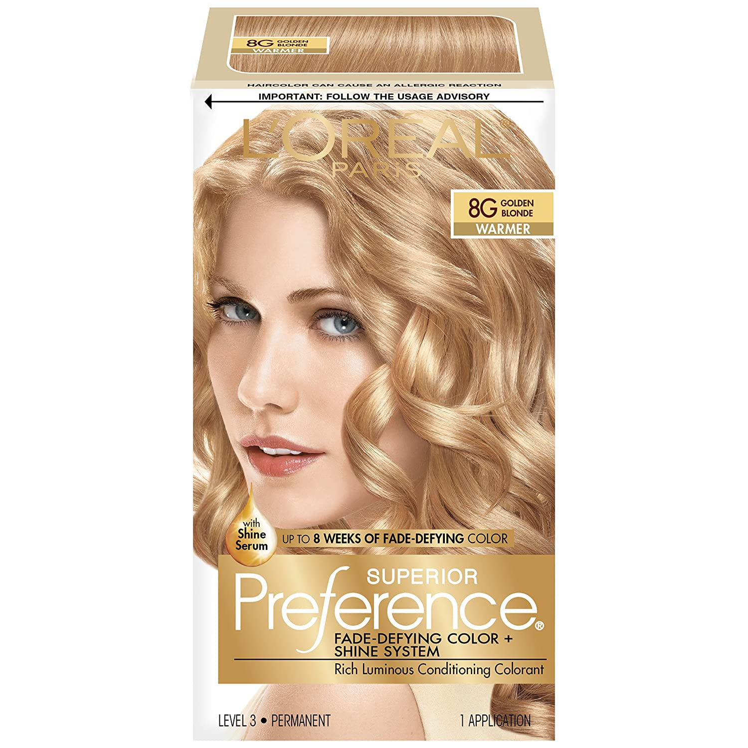 Buy Loreal Paris Superior Preference Color Golden Blonde Online At