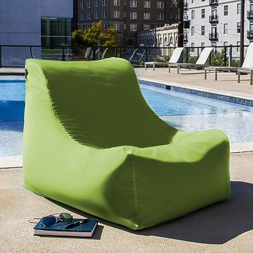 Incroyable Amazon.com: Jaxx Ponce Outdoor Bean Bag Lounge Chair, Lagoon: Home U0026 Kitchen