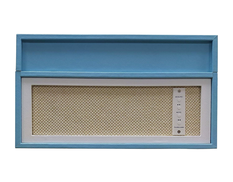 Sunstech Funk. Tocadiscos de Madera.33/45/78 RPM. Maleta Portátil ...