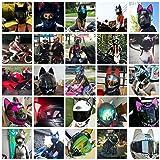 Cat Ear Helmet Upgrade: Easy Peel-and-Stick