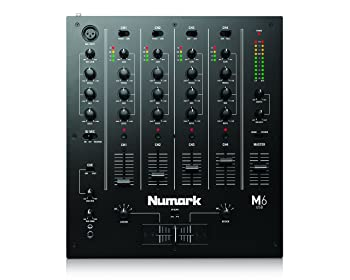 front facing numark m6
