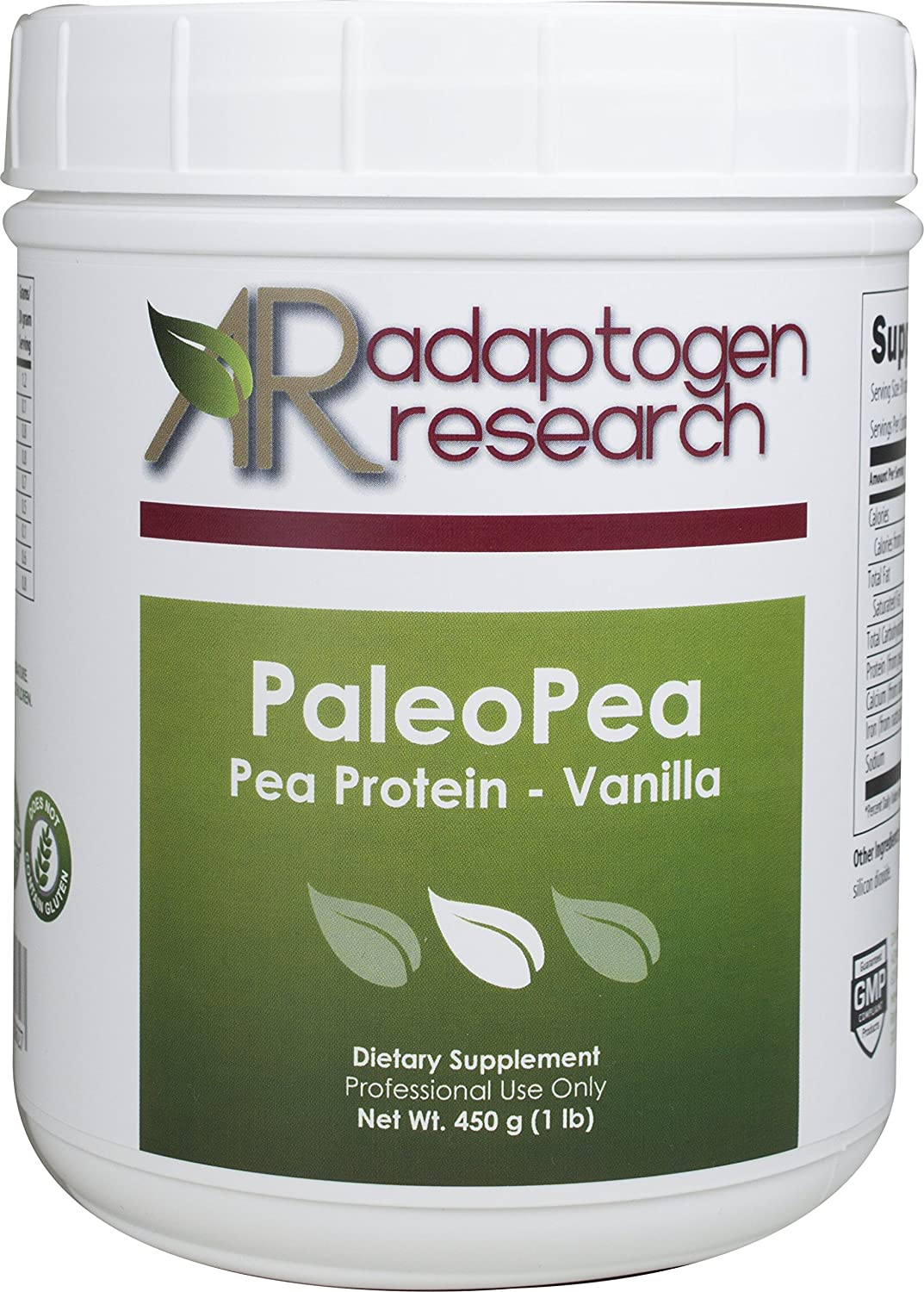 PaleoPea, Pea Protein by 450 grams - Vanilla by grams Research Adaptogen Research B01AN3WZAQ, ジーニングハウス JACK本店:cff5a25b --- dakuwebsite.xyz