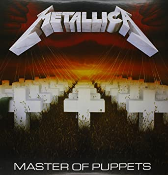 Metallica Master Of Puppets 2 LP Vinyl Music