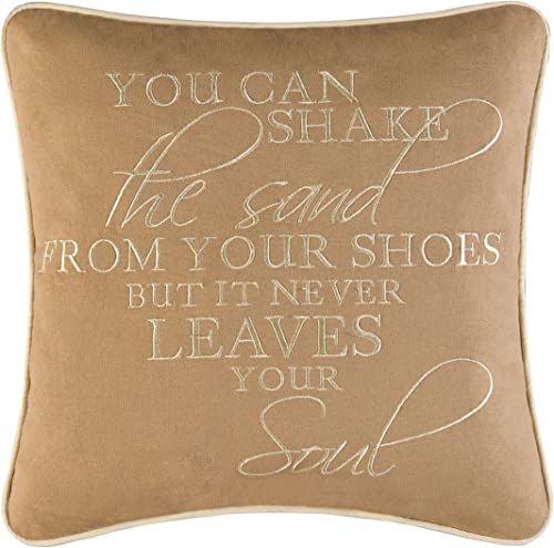 You Can Shake the Sand… Pillow -Home Decor