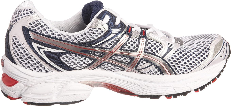 AsicsT0A1N0193 - Zapatillas de Running Hombre, Blanco (Blanc (White/Lightning/Navy)), 40.5 EU: Amazon.es: Zapatos y complementos