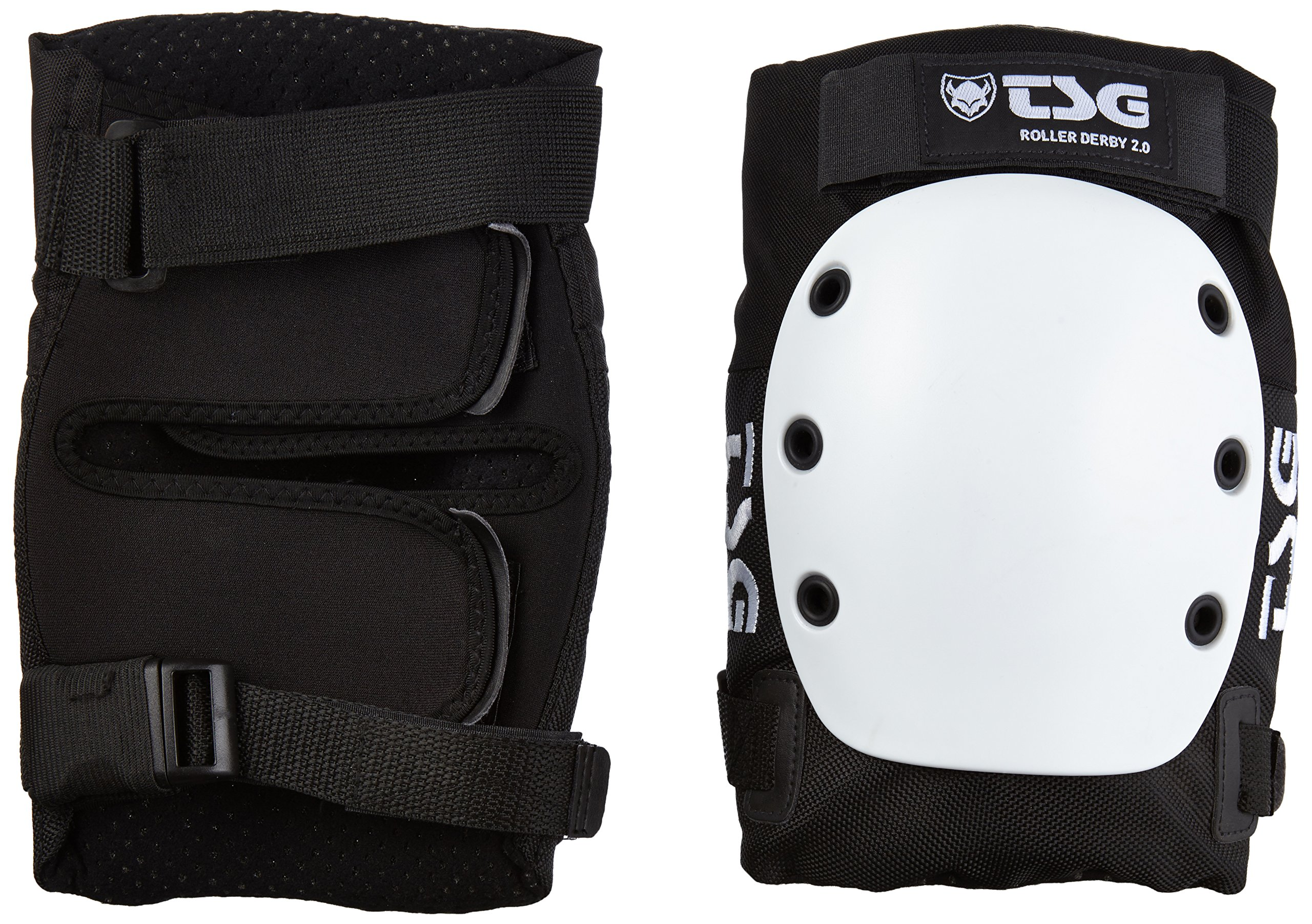 TSG protections pour genoux kneepad roller derby paire de genouillères 2.0 taille l (710043 by TSG
