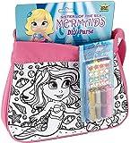Wild Republic 14148 - Fashion Bag mit Schlüsselanhänger Set, Motiv Mermaid, pink