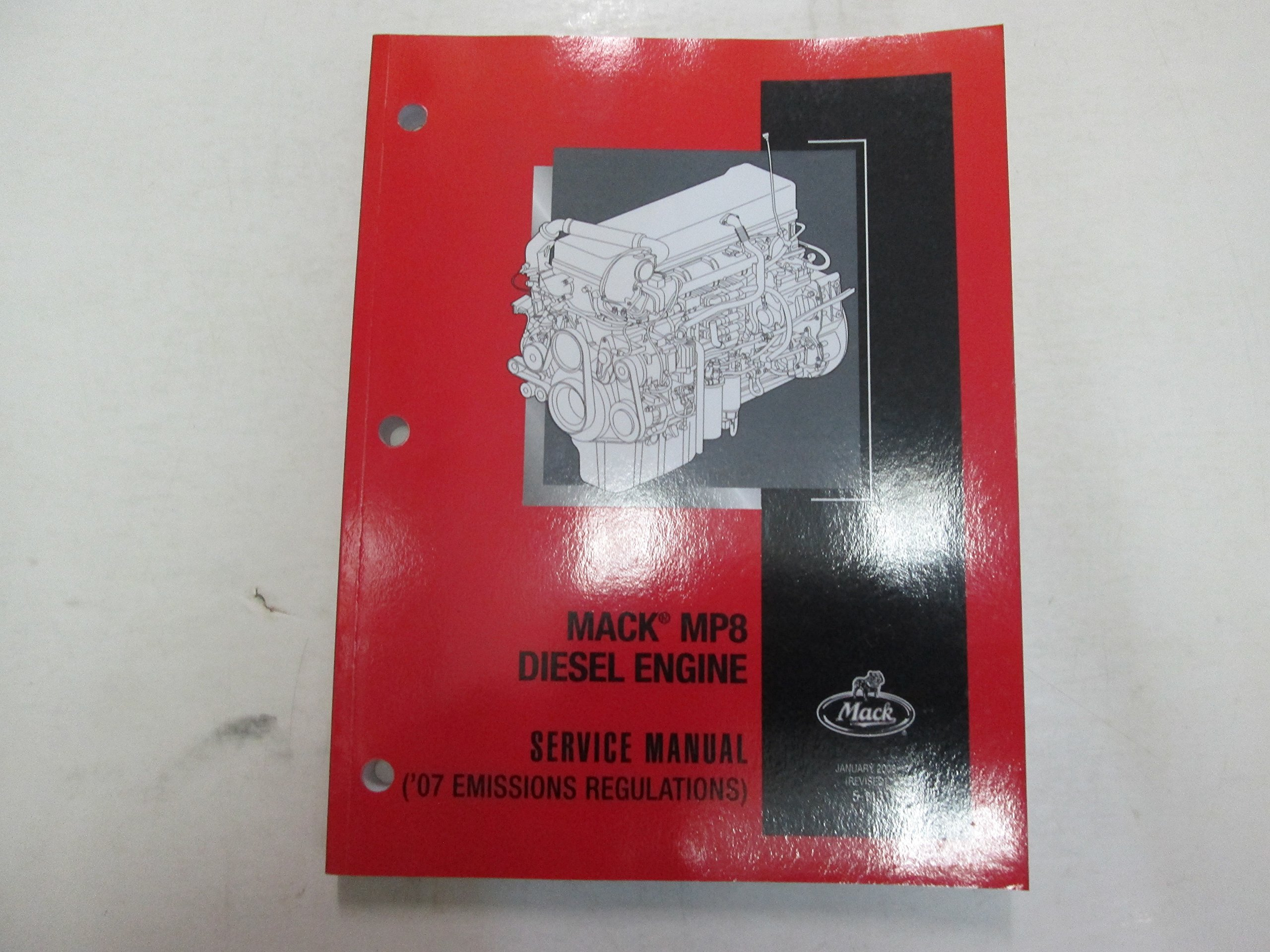 mp8 mack engine service manual