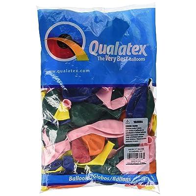 "Qualatex 43756.0 Standard Latex Balloons, 11"", Assorted: Kitchen & Dining"