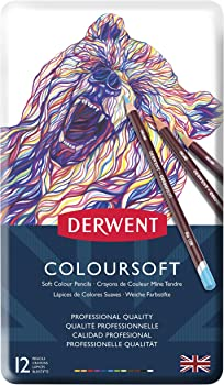 Derwent 0701026 12 Colored Pencils