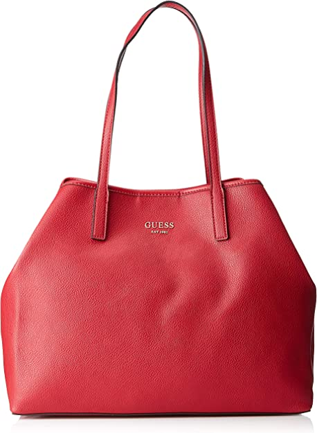 GUESS Vikky Large Tote Schultertasche Shopper Tasche Taupe