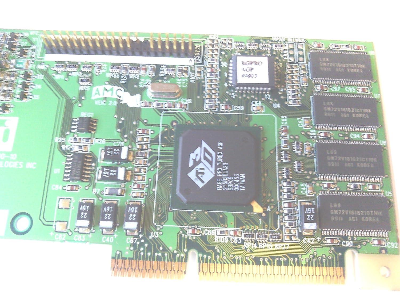 Amazon.com: ATI 215R3BUA22 3D Rage Pro AGP Video Card: Computers & Accessories