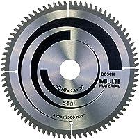 "Bosch Professional 6,625,946,73,5"" multimaterial MUB rundsågblad, silver, 54"