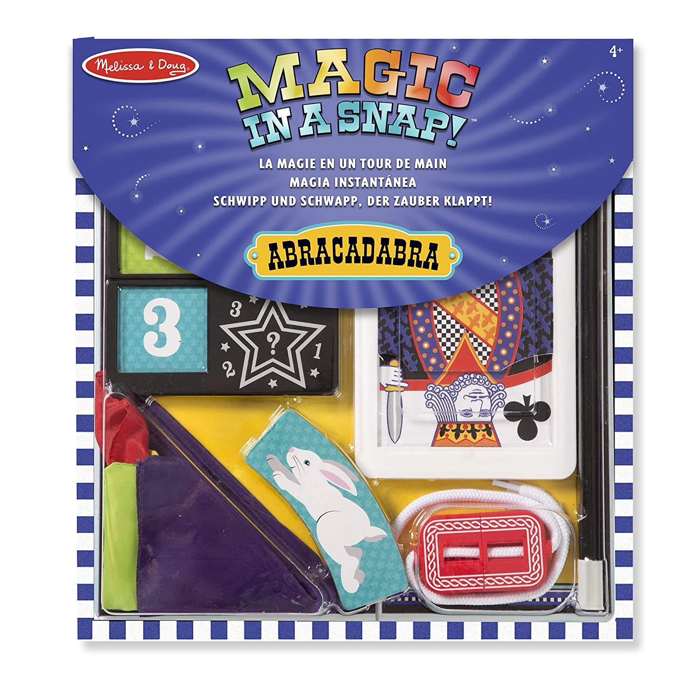 Melissa & Doug 14032 Set di Trucchi di Magia Abracadabra, 10 Pezzi