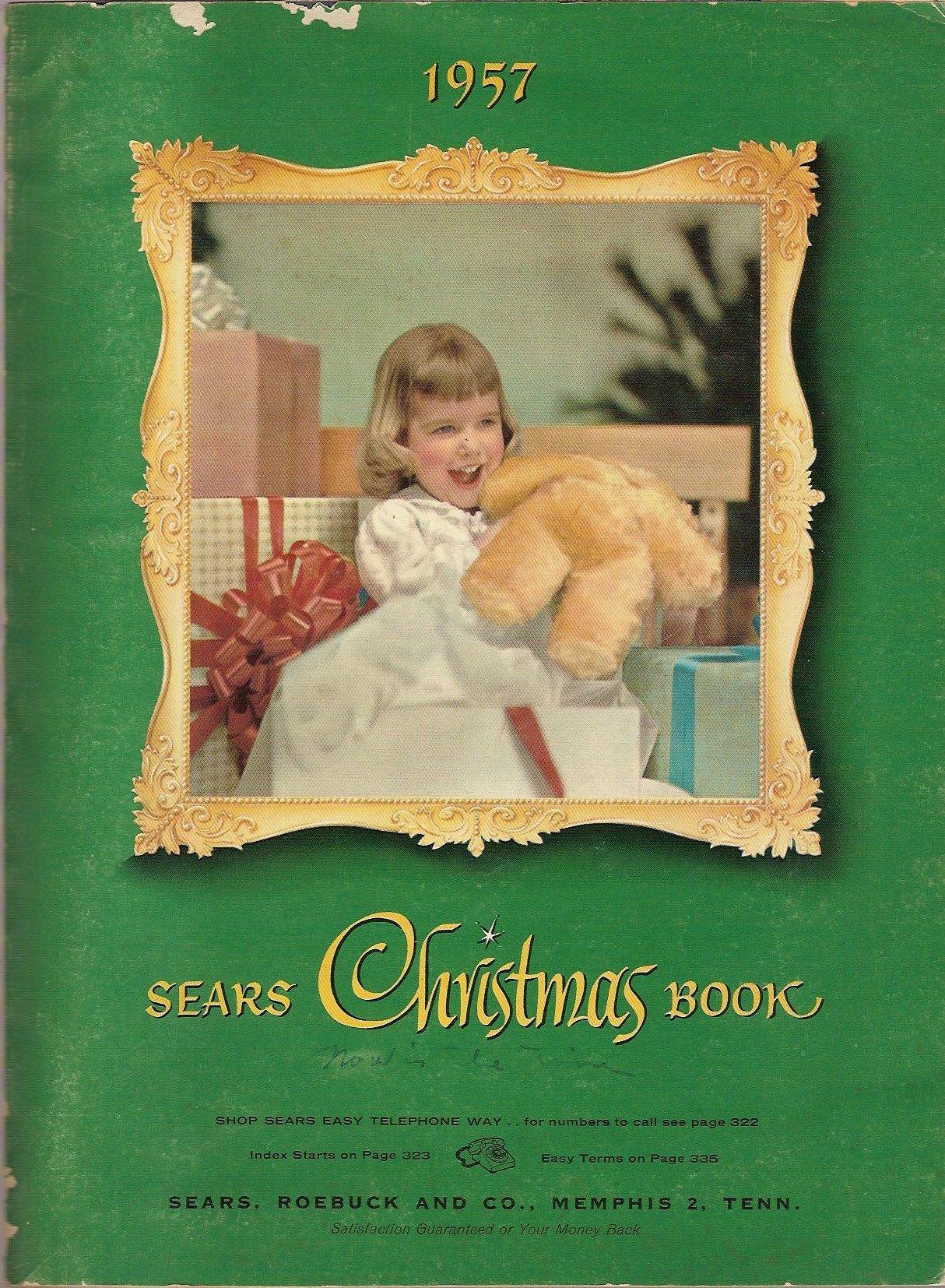 Sears Christmas Photos.1957 Sears Christmas Book Roebuck And Company Sears Amazon