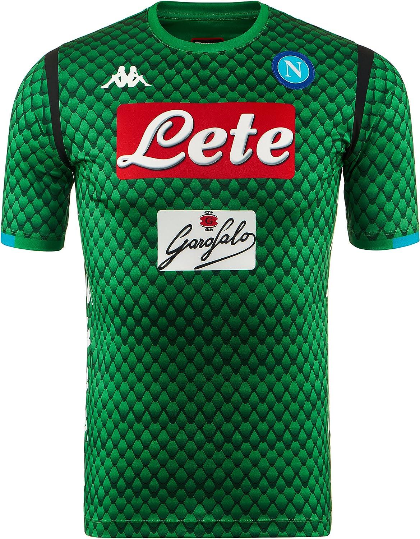 SSC Napoli Camiseta de portero local réplica: Amazon.es: Ropa y accesorios