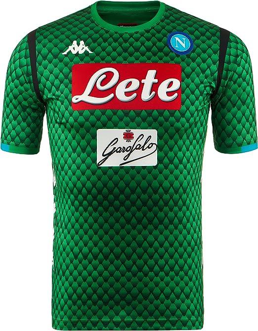 SSC Napoli Camiseta de portero local réplica: Amazon.es: Ropa y ...