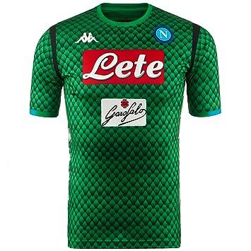 SSC Napoli Camiseta de portero local réplica: Amazon.es: Deportes y aire libre