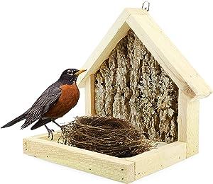 Uncle Dunkels Premium Cardinal Nesting Shelve