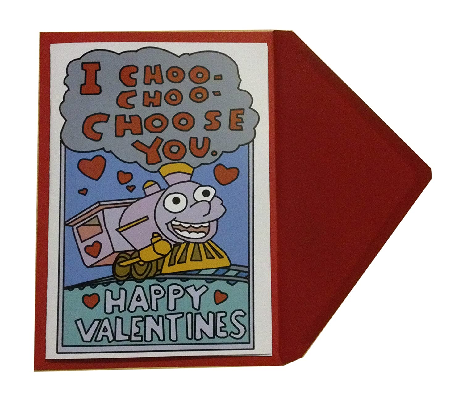 image about I Choo Choo Choose You Printable Card titled I Choo Choo Select Your self Valentines Working day Card - for Boyfriend
