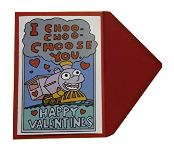 I Choo Choo Choose You Valentine S Day Card For Boyfriend