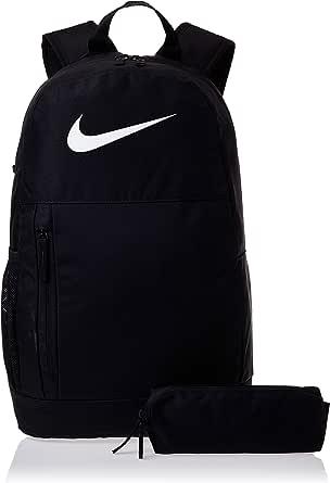 Nike Unisex-Child Backpack, Black/White - NKBA6603-010