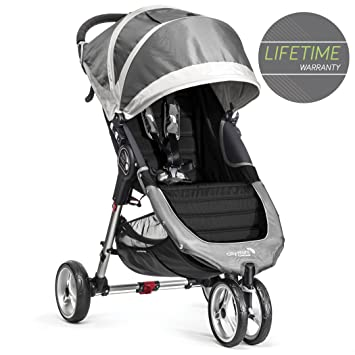 Baby Jogger City Mini Single Stroller Steel Grey