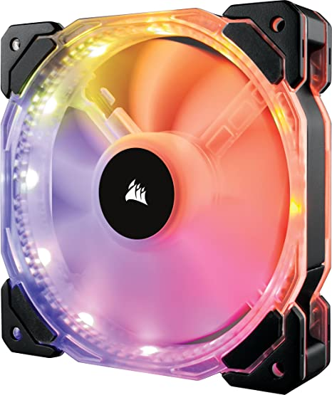 Corsair HD140 RGB - Ventilador de PC (140 mm, Iluminación a LED ...