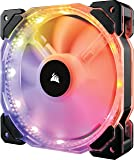 Corsair HD Series HD140 RGB LED 140mm High Performance RGB LED PWM Single Fan No Control Corsair HD Series Cooling (CO‐9050068‐WW)