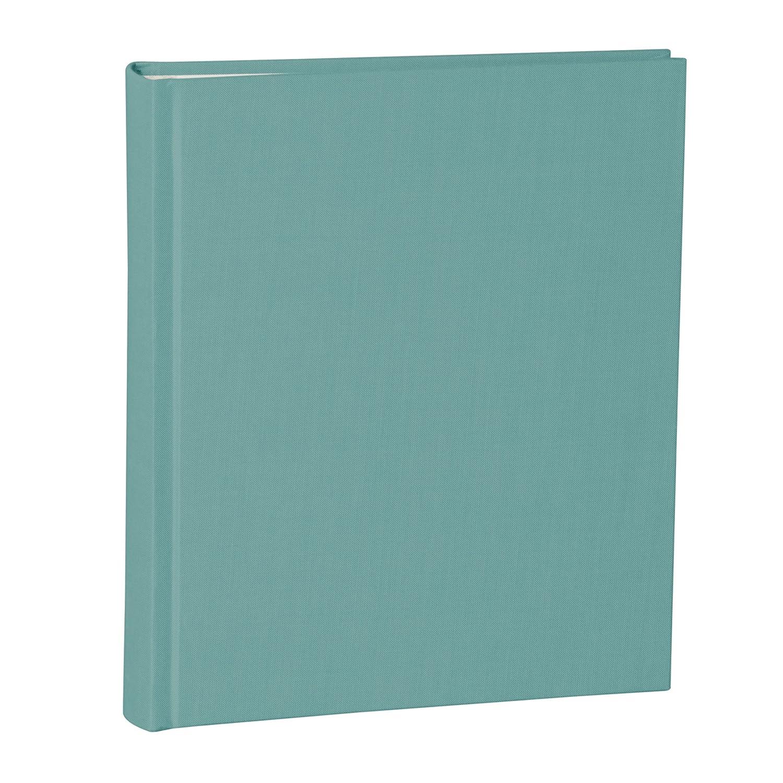 Semikolon Album Album Album Medium grau (grau)   Foto-Album mit 80 Seiten und hochwertigem Buchleinen-Bezug   Foto-Buch mit 40 Blättern cremeweißem Fotokarton mit Pergaminpapier   Format  21,6 x 25,5 cm B075FC3N6L Fotoalben 8fd2da