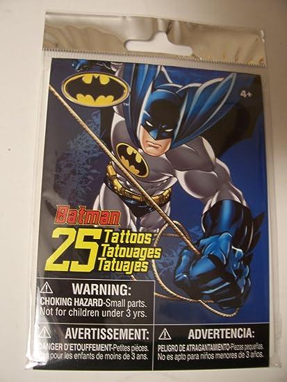 Amazon.com: DC Comics Batman Tattoos ~ 25 Tattoos: Toys & Games