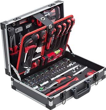 56 tlg Werkzeugkoffer Werkzeugbox Steckschlüssel Set Werkzeug Werkzeugkiste