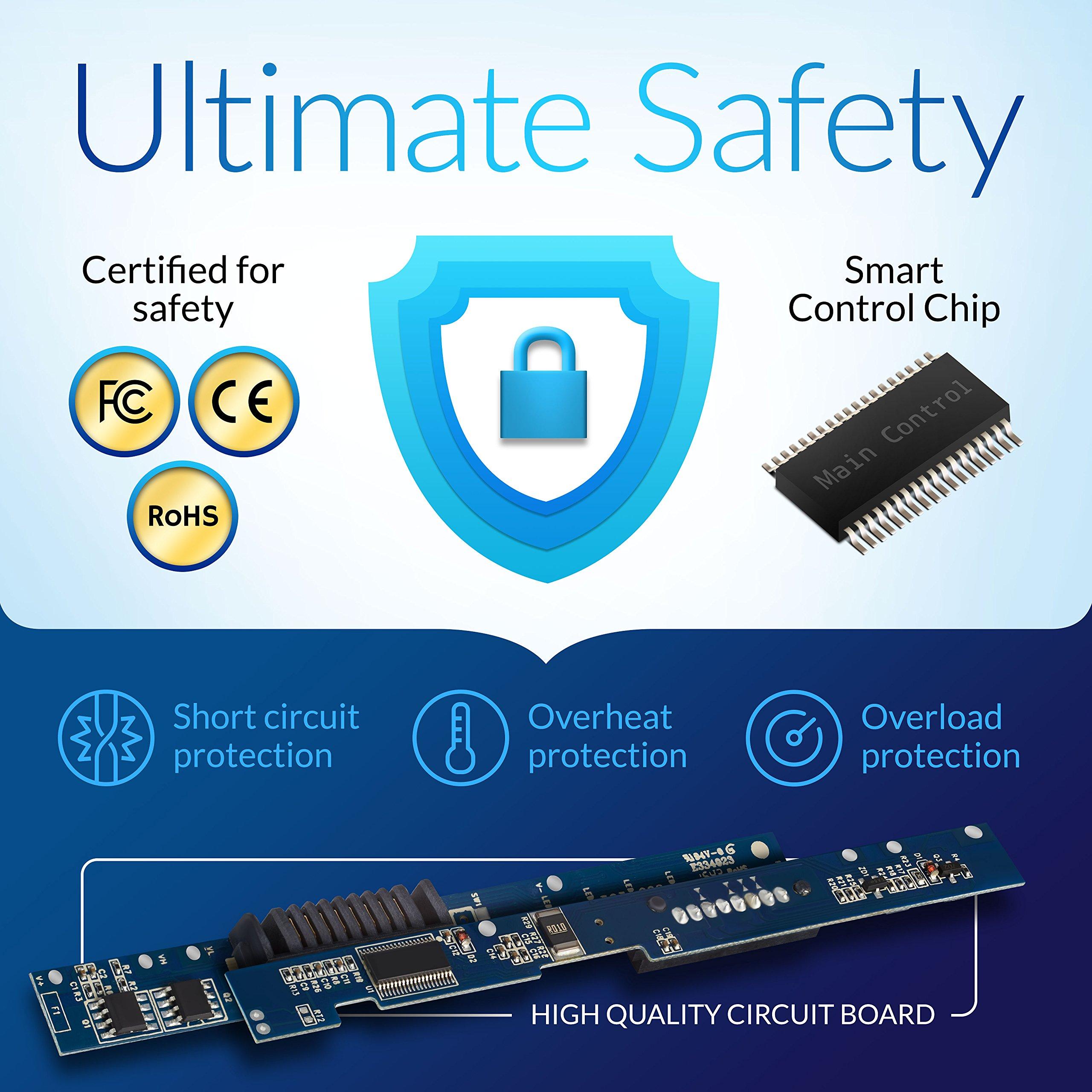 NinjaBatt Laptop Battery for HP VI04 756743-001 756745-001 756744-001 756478-851 ProBook 440 G2 450 G2 756478-421 756478-421 756478-422 756479-421 HSTNN-LB6I Envy 14 15 17 - [4 Cells/2200mAh] by NinjaBatt (Image #5)