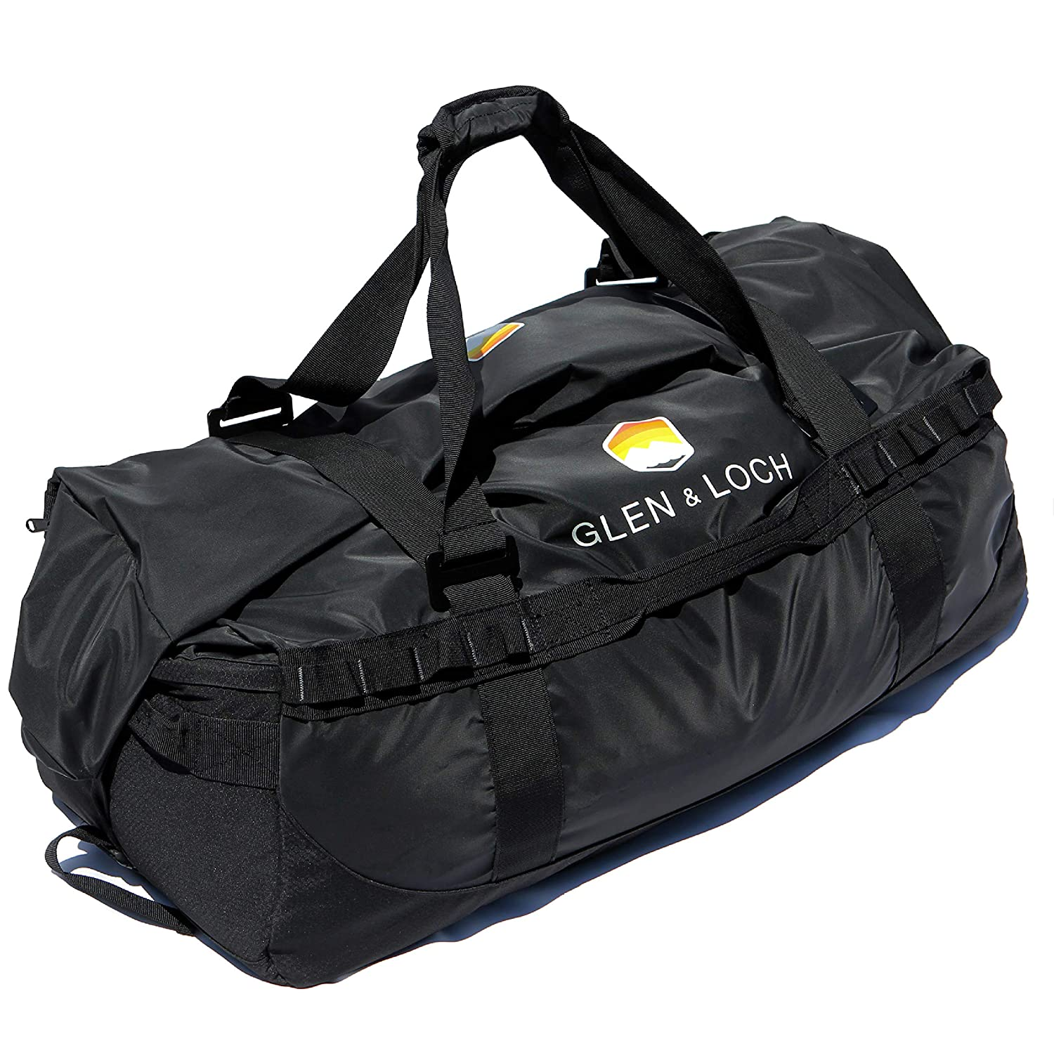 ded25aeae739aa Amazon.com | Glen & Loch High Point Weatherproof Duffel Outdoor Hiking  Camping Kayaking Boating Travel Bag - High Point | Travel Duffels