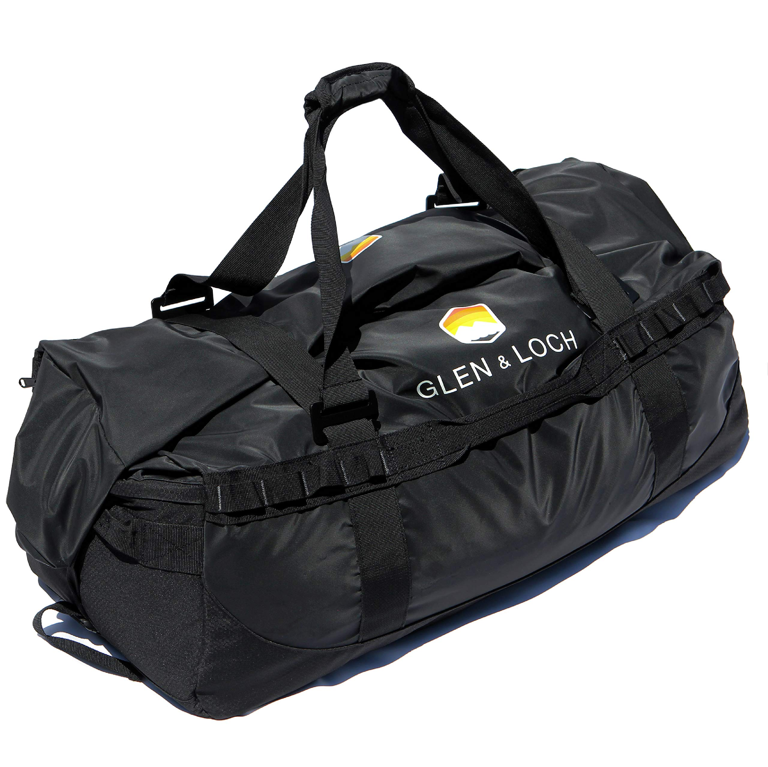 Glen & Loch High Point Weatherproof Duffel Outdoor Hiking Camping Kayaking Boating Travel Bag - High Point