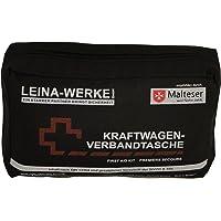 Leina 73602 Kit de Primeros Auxilios, Negro/Rojo