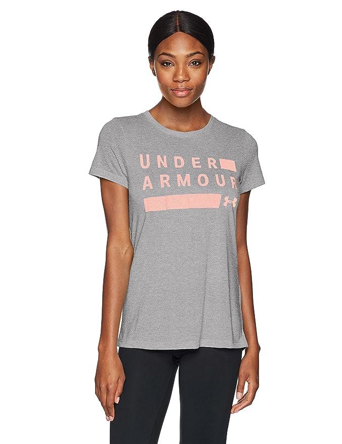 d1e50853 Under Armour Women Threadborne Train Grph Twist Ssc T-Shirt: Amazon.co.uk:  Sports & Outdoors