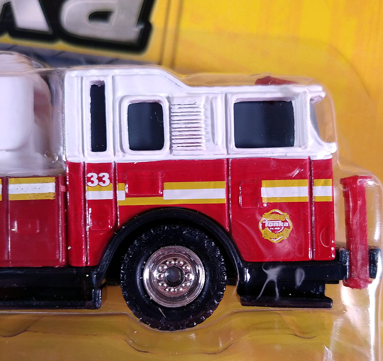Tonka Diecast Rescue Rigs Diecast Metal Scale Model Funrise 06442 Ladder 33 Fire Rescue
