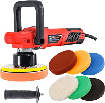 Car Polisher Machine 6 Variable Speed Orbit Dual Action Auto Detailing Tools