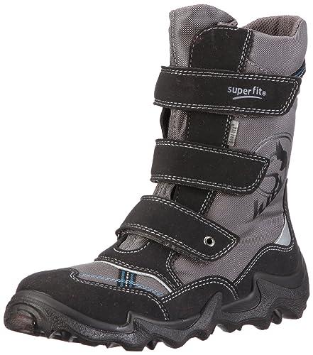 low priced 08563 c072f Superfit Husky Boots Boys Gray Grau/stone kombi Size: 31 ...