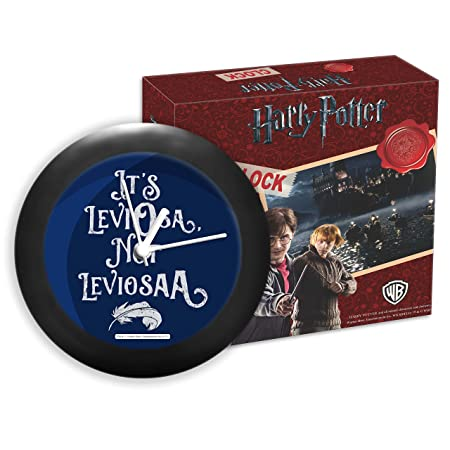 Mc Sid Razz Harry Potter - Leviosa | Table Clocks |Desk Clock | Table Clock for Home Decor |Table Clock for Office, Official Licensed by Warner Bros, USA