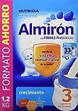 Almirón Leche en polvo 12m+ - Contiene 3 bolsas de 400 g y un cacito - Total: 1200 gr